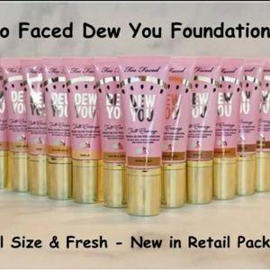 NIB Too Faced Dew You Liquid Foundation *Choice